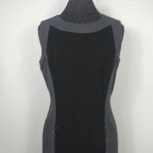 Calvin Klein Sheath Dress Color Block